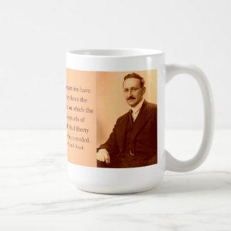 Hayek on Emergencies Coffee Mug
