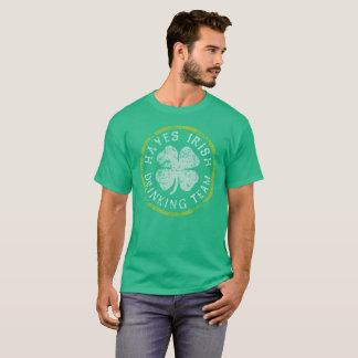 Hayes Irish Drinking Team T-Shirt
