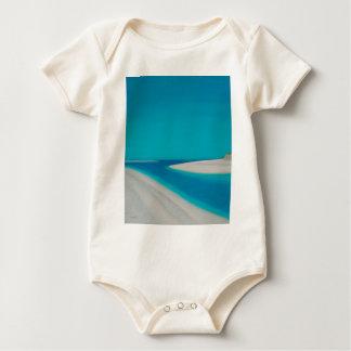 Hayle esturary. baby bodysuit