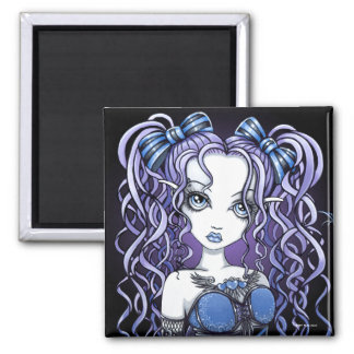 """Haylee"" Gothic Couture Butterfly Fairy Magnet"