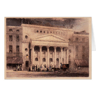 Haymarket Theatre Card