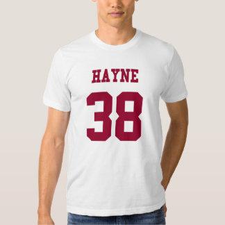 Hayne 38 shirt