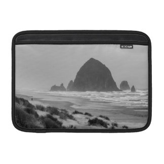 Haystack Rock at Cannon Beach MacBook Sleeve