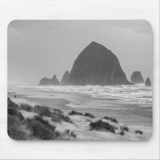Haystack Rock at Cannon Beach Mouse Pad