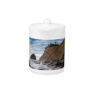 Haystack Rock at Cape Kiwanda Oregon coast USA