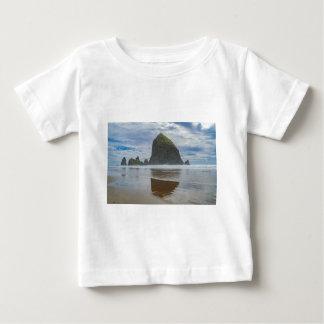 Haystack Rock, Cannon Beach, Oregon Baby T-Shirt