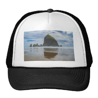 Haystack Rock, Cannon Beach, Oregon Cap