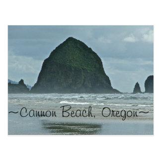 Haystack Rock, Cannon Beach Oregon Postcard