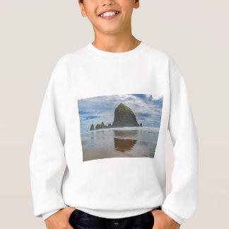 Haystack Rock, Cannon Beach, Oregon Sweatshirt