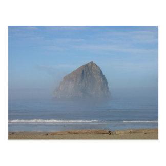 Haystack Rock, Oregon Postcard