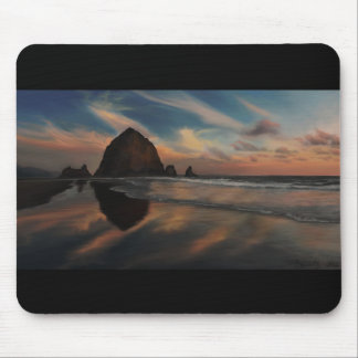 Haystack Rock Painting Mouse Pad