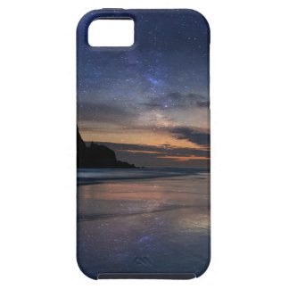 Haystack Rock under Starry Night Sky iPhone 5 Cover
