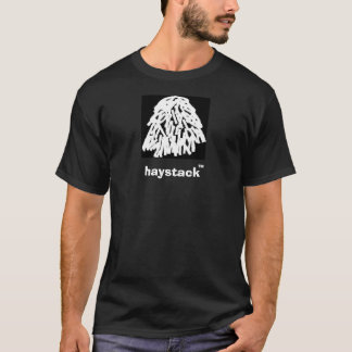 haystack-tshirt-white-noshade, haystack, TM T-Shirt