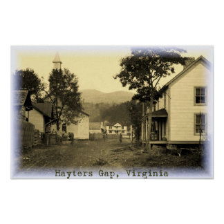 Hayters Gap Vintage 2 Poster