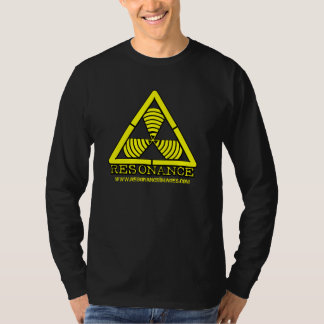 Hazard Logo Yellow Resonance Images Long Sleeve T-shirt