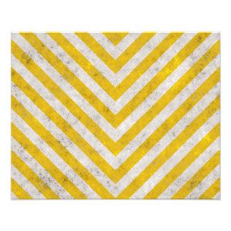Hazard Striped Photo Art
