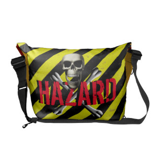 Hazard Warning Messenger Bags