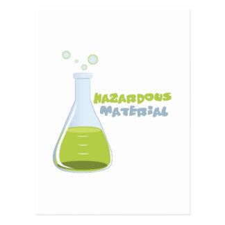 Hazardous Material Postcard