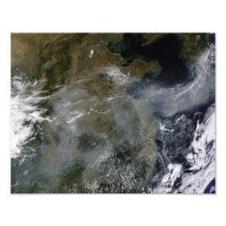 Haze across the North China Plain Photo