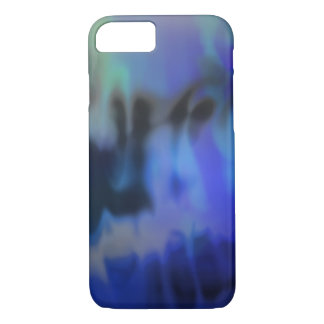 Haze, Blue Abstract iPhone Case