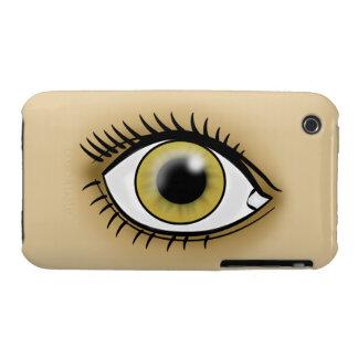 Hazel Eyes icon iPhone 3 Cases