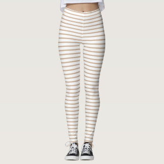 Hazelnut Stripes Leggings