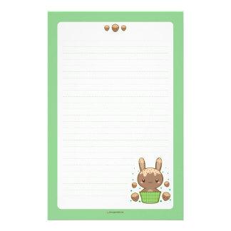 Hazelnut Truffle Bunny Stationery