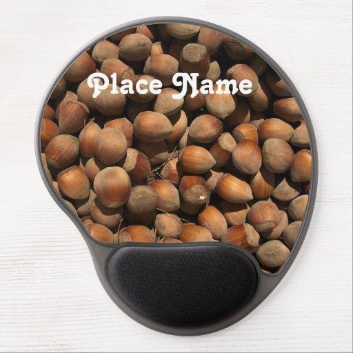 Hazelnuts Gel Mouse Mat
