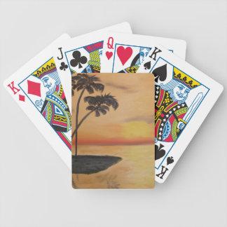 Hazey Days Bicycle Playing Cards