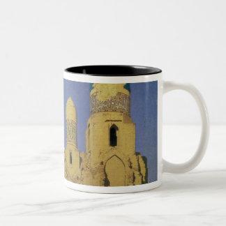 Hazreti Shakh-i-Zindeh Mausoleum Two-Tone Coffee Mug