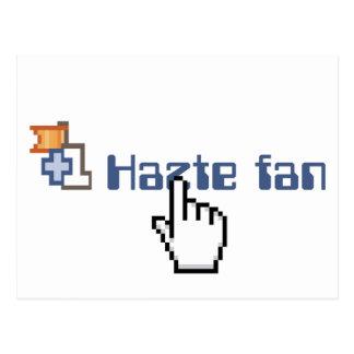 Hazte Fan Postcard