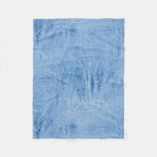 Hazy Blue Woods at Night Fleece Blanket