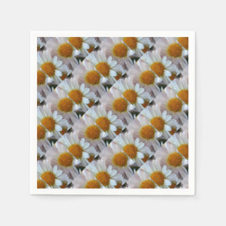 Hazy Day Daisies Disposable Napkins