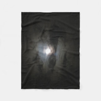Hazy Moon Fleece Blanket