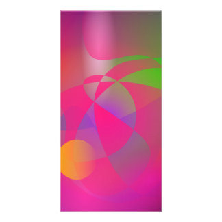 Hazy Space Pink Photo Greeting Card