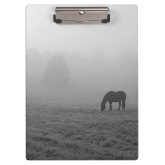 Hazzy Grazing Grayscale Clipboard