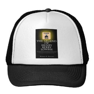HBL - Black baseball Cap with Front Cover of Book