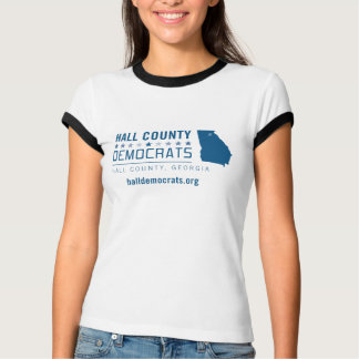HCD: Hall County Democrats T-Shirt