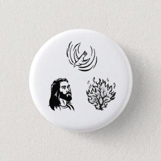 HCF Holy Trinity 3 Cm Round Badge