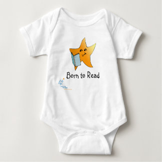 HCPL Born to Read Baby Bodysuit