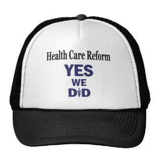 HCR - Yes We Did! Cap