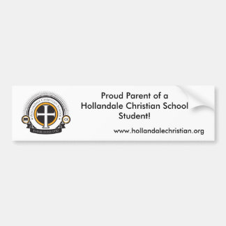 HCS Parent Bumper Sticker