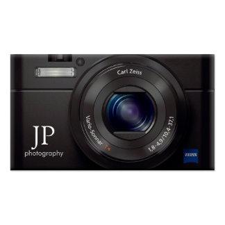 HD Lens Digital Camera Photographer Pack Of Standard Business Cards