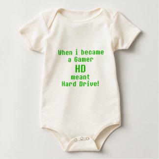 HD means Hard drive Baby Bodysuit