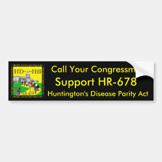 HD on the Hill Bumper Sticker