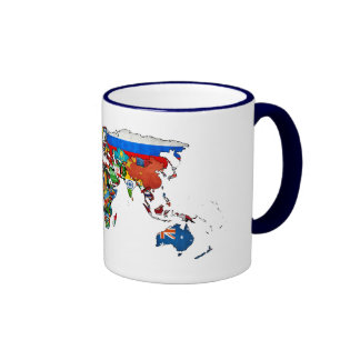 HD World Flags Mug