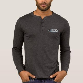 HDBitchin Logo Canvas Henley Long Sleeve Shirt
