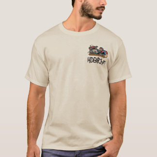 HDBitchin Logo T-Shirt - Forum Surfing