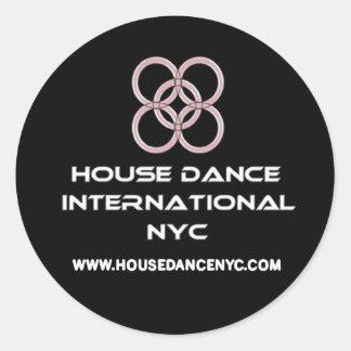 hdi sample classic round sticker