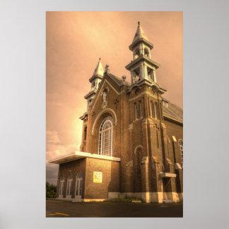 HDR - Charlo Catholic Church Poster